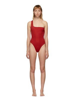 HAIGHT red sofia one-piece swimsuit