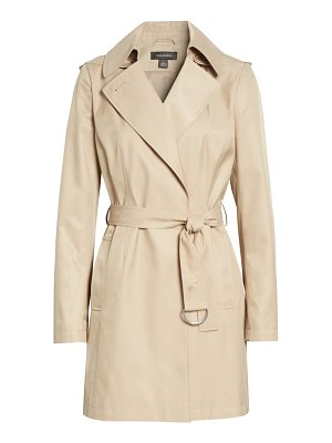 Halogen halogen classic trench coat