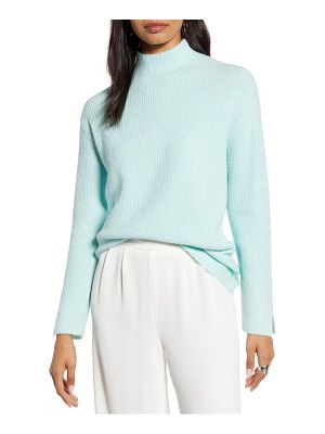 Halogen halogen mock neck sweater