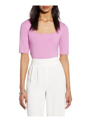 Halogen halogen square neck knit top
