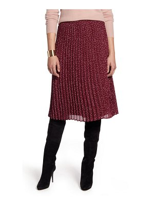 Halogen halogen pleated skirt