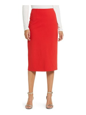 Halogen halogen ponte pencil skirt