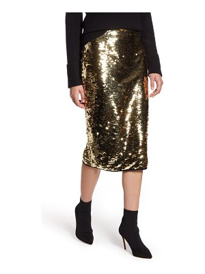Halogen halogen sequin skirt