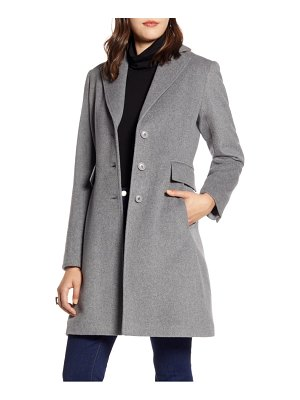 Halogen halogen single breast wool blend jacket