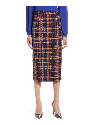 Halogen halogen tweed pencil skirt