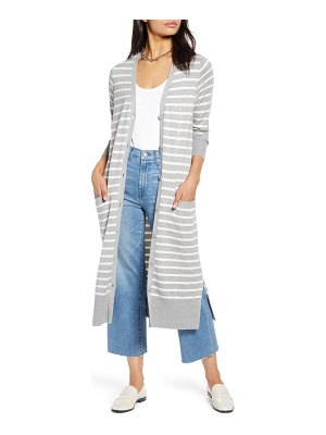 Halogen halogen v-neck long cardigan