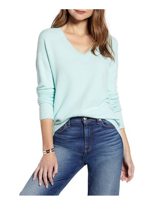 Halogen halogen v-neck sweater