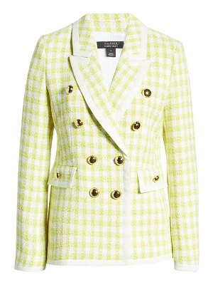 Halogen halogen x atlantic-pacific neon tweed blazer