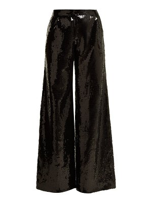 HALPERN wide-leg sequined trousers