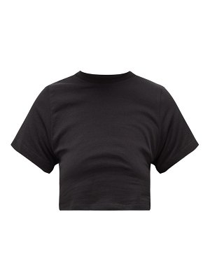 Hanes x Karla the baby cotton cropped t-shirt