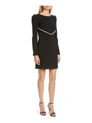 HANEY audrey long sleeve cocktail dress