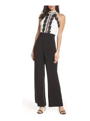 Harlyn lace bodice jumpsuit