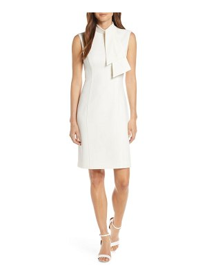 Harper Rose tie neck sheath dress