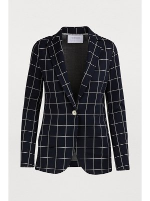 Harris Wharf London Checkered boyfriend jacket
