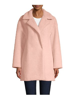 Harris Wharf London faux fur double-breasted jacket