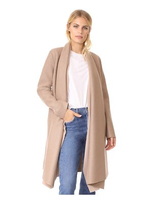 Harris Wharf London long blanket coat