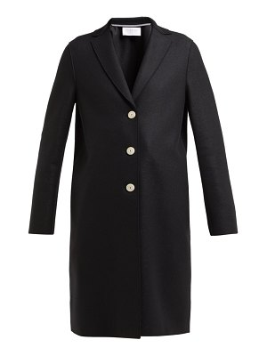 Harris Wharf London Single Breasted Wool Coat