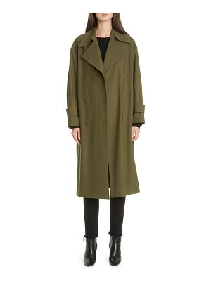 Harris Wharf London water resistant trench coat