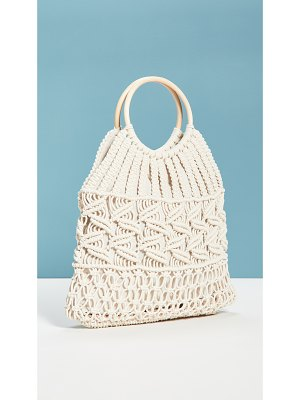 Hat Attack cotton cord bag