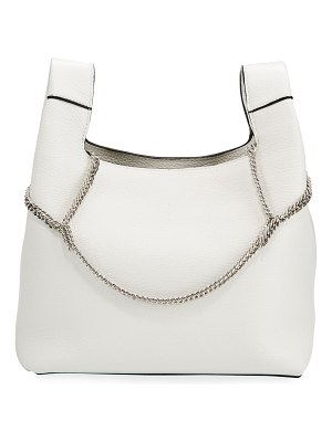 Hayward New Chain Leather Top-Handle Bag