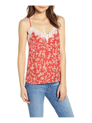 HEARTLOOM andra lace detail camisole