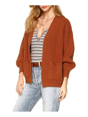 HEARTLOOM lilah cable knit cardigan