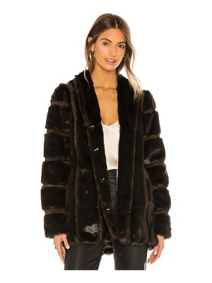 HEARTLOOM tori faux fur coat