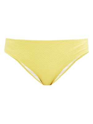 Heidi Klein cancun honeycomb-effect bikini briefs