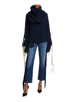Hellessy Mellors Cowl Turtleneck Sweater