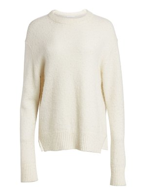 Helmut Lang brushed alpaca-blend sweater