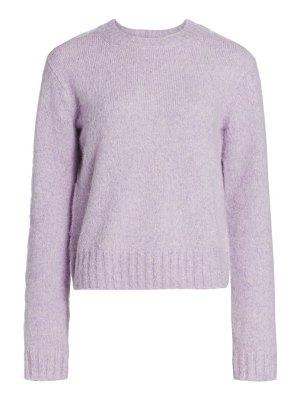 Helmut Lang brushed crewneck sweater