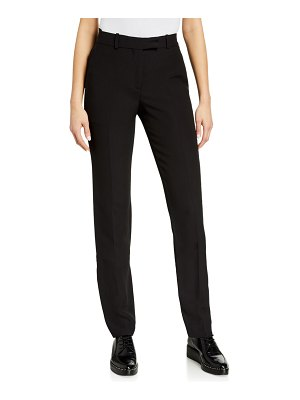 Helmut Lang Cady Straight-Leg Suit Pants
