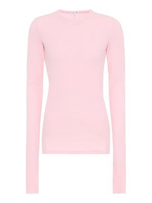 Helmut Lang Cotton rib-knit top