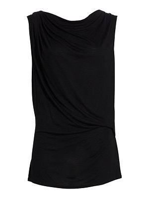 Helmut Lang crossover draped top