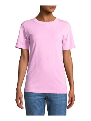 Helmut Lang Distressed Crewneck T-Shirt