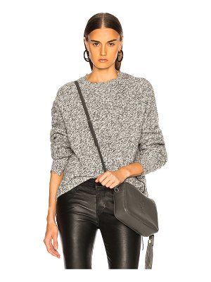 Helmut Lang Distressed Relaxed Long Sleeve Crew