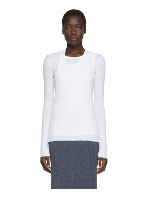 Helmut Lang double layer long sleeve t-shirt