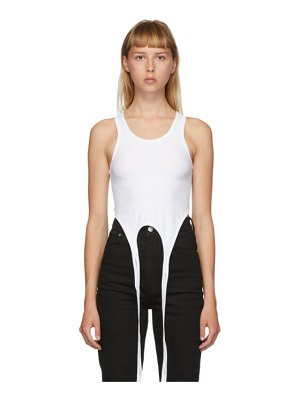 Helmut Lang double seamless tank top