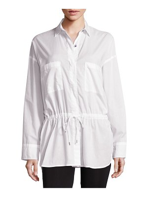 Helmut Lang Lawn Cotton Top