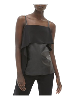 Helmut Lang Leather Slip Top