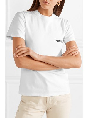 Helmut Lang little tee printed cotton-jersey t-shirt