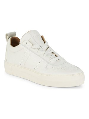Helmut Lang Low Top Leather Sneakers