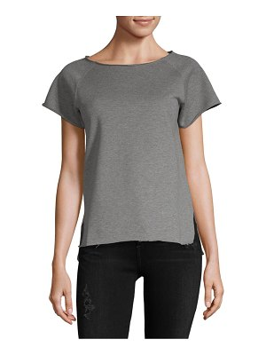 Helmut Lang Raw Raglan Cotton Tee