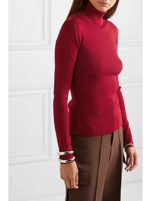 Helmut Lang ribbed-knit turtleneck sweater