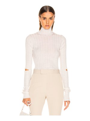 Helmut Lang Slash Rib Turtleneck