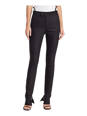 Helmut Lang slim leg suit trousers
