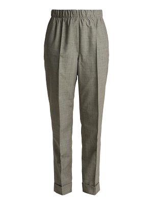 Helmut Lang Tailored wool and mohair blend trousers