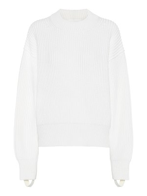 Helmut Lang wool and cotton sweater