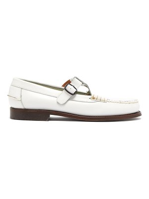 HEREU alber leather dolly loafers