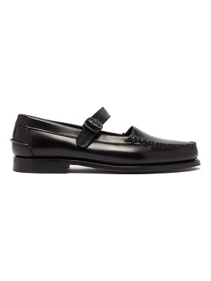 HEREU blanquer mary-jane leather loafers